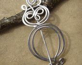 Owl Shawl Pin, Scarf Pin, Sweater Brooch - Light Weight Aluminum Knitting Accessory, Women Accessories, Fashion Accesories