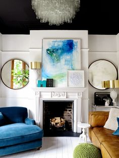 10 Reasons to paint the walls (and other places) in black | Inspiring Homes