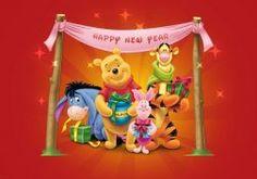 WINNIE THE POOH disney year years    f