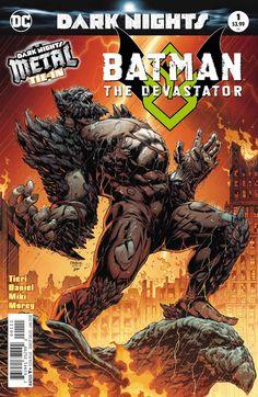 Batman Comic Fantastic Comic Covers Comic Art Comic art and comic covers Batman Metal, Batman Dark, Batman Arkham, Evil Batman, Batman Ninja, World War Hulk, Apocalypse, Comic Book Covers, Comic Books