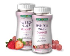 Natures Bounty Biotin: hair, skin, and nails gummies (Personal Review) | beautiescabinet.com
