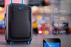 This high-tech smart luggage ($339)