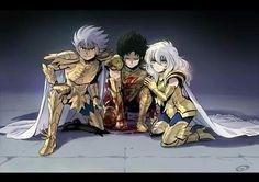 DeathMask, Shura and Aphodite