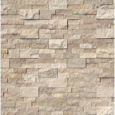 Travertine Floors, House Tiles, Tiles Texture, Stone Veneer, Exposed Brick, Stone Tiles, Interior Walls, Interior Design, Interior Ideas