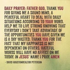Morning Prayer Quotes Daily Prayer  My Favorite Quotes  Pinterest  Daily Prayer And .