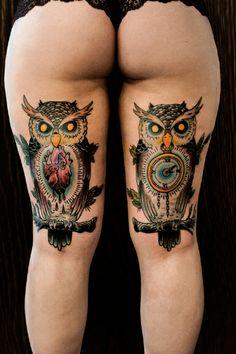 #Traditional #Tattoo by Christoph Aribert http://www.erntezeit-taetowierungen.de