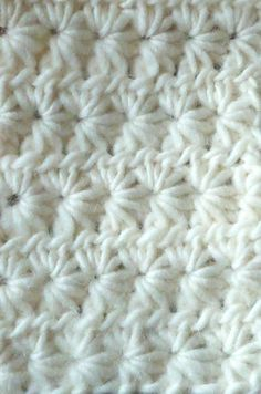 Star Stitch Crocheting Tutorial