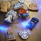 Dr who cookie cutters Perfect for making your very own Whovian cookies, you can bring some of the best-loved icons from Doctor Who to life with our polypropylene cutters that will stamp an intricate design on each and ever Cool Kitchen Gadgets, Quirky Kitchen, Youre Crazy, Cookies For Kids, Gadgets And Gizmos, Geek Out, Dr Who, Things To Buy, Doctor Who