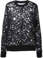 Givenchy - floral lace sweater #genteroma