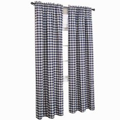 Buy Buffalo Check Rod-Pocket Curtain Panel today at jcpenney.com. You deserve great deals and we've got them at jcp!