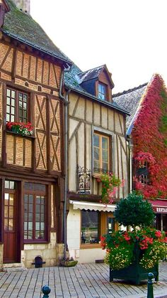 Shops in Amboise,France
