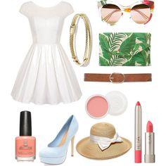 10 by amflegert on Polyvore featuring polyvore fashion style Chi Chi Stella & Dot David Yurman Gucci Gottex M&Co Ilia Christian Dior