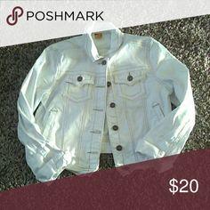 Denim Jacket Good condition. Size L. Jou Jou Jackets & Coats Jean Jackets