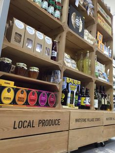 """"""" we are making a big feature on amazing local foods Food Retail, Point Of Sale, Retail Displays, Crates, Foods, Coffee, Big, Twitter, Amazing"""