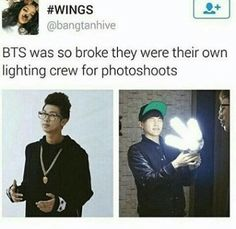 Suga is blinded! #BTS