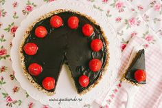 Tort ciocolata raw vegan