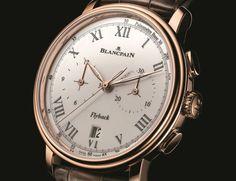 Neuer Pulsmesser-Chronograph von Blancpain