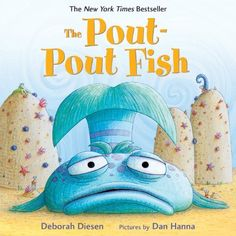 "(""Picture Books"") Diesen, D., & Hanna, D. (2008). ""The Pout-Pout fish"". New York: Farrar Straus Giroux. New York Times Best Seller PreK-K Pout-Pout Fish is always pouting and spreading his dreariness all over the sea. His fish friends are fed up with his constant frown, until a beautiful sparkle fish gives Pout-Pout fish a smooch. Suddenly he is ecstatic and realizes he is mean to be a happy fish. This shows how a friendly interaction can make a positively impact.  Nina Luszczak"