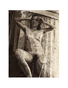 "Paul Walker ""Elika"" etching, aquatint, 2006"