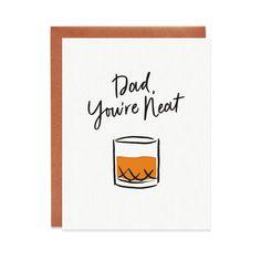 Birthday Card Puns, Birthday Card Drawing, Birthday Cards For Dad, Bday Cards, Happy Birthday Cards Handmade, Creative Birthday Cards, Fathers Day Puns, Fathers Day Cards, Best Friend Cards