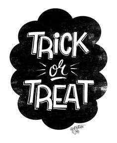 Trick or Treat! Art Print by Julia Broughton