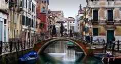 Italy - Venice: Rain on the water by Fabrizio Fenoglio on 500px