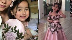 Modern Filipiniana Gown, Filipiniana Wedding Theme, Wedding Dresses, Trendy Dresses, Girls Dresses, Flower Girl Dresses, Scarlet Snow, Filipino Culture, Wedding Inspiration