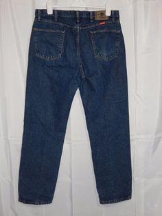 Wrangler Mens Jeans Five Star Premium Denim Jean Regular Fit 38x32 #Wrangler #ClassicStraightLeg