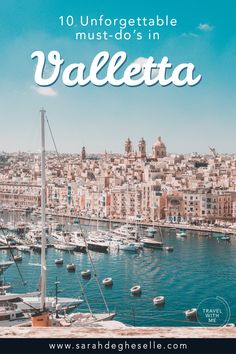 Looking for travel tips for Valletta in Malta? Plan the perfect Valletta walking tour with these 10 amazing must-do's and discover everything this city has to offer. Europe Destinations, Europe Travel Guide, Travel Guides, Travel Advice, Spain Travel, Budget Travel, Italy Travel, Cool Places To Visit, Places To Travel