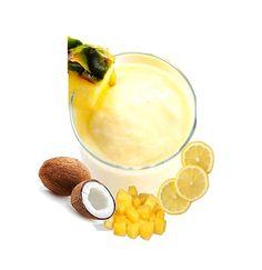 Creamy Pina Colada Sorbet for a Delightful Summer Evening Pina Colada Sorbet Recipe, Frozen Pina Colada, Homemade Sorbet, Refreshing Desserts, Great Desserts, What Is Sorbet, Make Coconut Milk, Nut Milk Bag