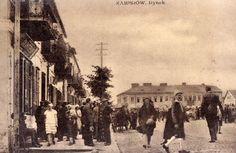 pl. Sikorskiego (Rynek), Zambrów - 1930 rok, stare zdjęcia