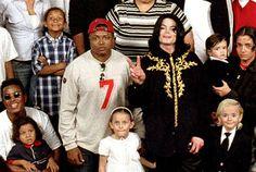 Michael Jackson and family