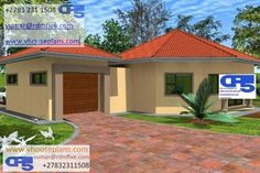 Double Storey House Plans, Tuscan House, Site Plans, Garage Plans, House Floor Plans, Home Collections, House Design, Patio, How To Plan