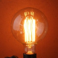 Incandescent Bulbs G95 E27 60W 110/220V 138mm x 95mm Retro Edison Bulb