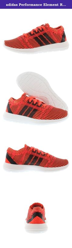 adidas Performance Element Refine Tricot C Running Shoe (Little Kid),Solar Red/Black 1/Running White,12 M US Little Kid. Get ready to go that extra mile on the running track this season wearing these 'Element Refine Tricot' running shoes from adidas.Made to be low-to-the-ground and features an almost entirely knitted Mesh upper for a 90% material usage efficiency rating.The Mesh upper provides lightweight and breathability while the High Abrasion EVA midsole supports natural movement of…
