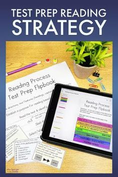 This printable and digital flipbook gives middle school students a chance to interactively practice with using the reading process to prepare for state tests in reading! Comprehension Strategies, Reading Strategies, Reading Skills, Writing Skills, Ap Test, Test Prep, Reading Process, Writing Process, Guided Reading Activities