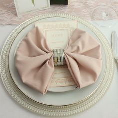BLUSH NAPKINS FOR WEDDINGS 12-pk, 20 inch Blush Napkin for Weddings, Wholesale Cloth Napkins