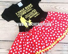 Minnie Mouse Dress Minnie Dress Baby Girls Dress Little Mickey Mouse Dress, Mickey Mouse Costume, Minnie Mouse Birthday Outfit, Minnie Dress, Mouse Outfit, Mickey Birthday, Birthday Ideas, Couple Halloween Costumes For Adults, Couple Costumes