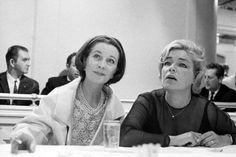 Vivien Leigh & Simone Signoret