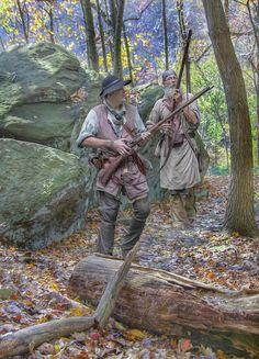 War Digital Art - Into The Unknown by Randy Steele Early American, Native American Art, American History, Mountain Man, Longhunter, Fur Trade, West Art, American Revolutionary War, American Frontier
