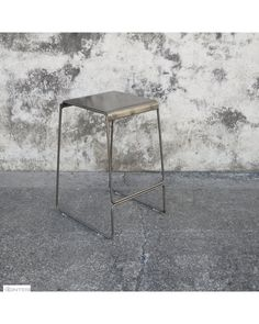 The Detroit stool is the ultimate in industrial style.  Finished with a clear coat over steel so all welds, burn marks and blemishes can be seen.<br />
