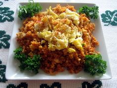Bulgur Pilaf with Vermicelli and Eggs