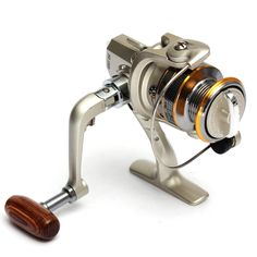 SG1000 6BB High Power Gear Spinning Spool Aluminum Fishing Reel for Fishing Tackle Line Bait Runner