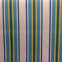 Trudy Lake Blue Fresco Stripe Indoor Outdoor Upholstery Fabric by  Swavelle Mill Creek