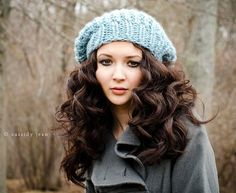 her hair....awesome