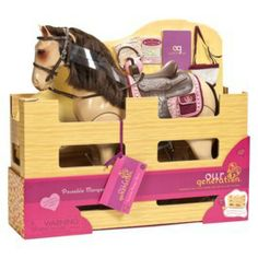 """Our Generation 20"""" Morgan Horse With Accessories"""