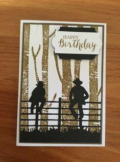 Australian Christmas Cards, Horse Cards, Purple Cards, Men's Cards, Paper Roses, Rose Design, Masculine Cards, Card Designs, Wilderness