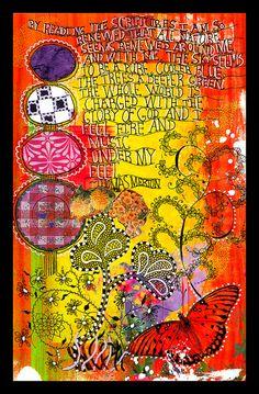 Art journal 7-24 by fluteforthought, via Flickr