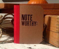 cool letterpressed notebooks