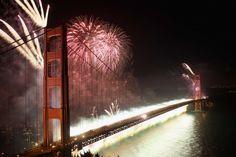 San Francisco - Happy bday Golden Gate!
